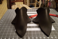 Shoes covers, all shaped up