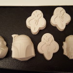 The molds were iffy  and kind of heavy once I had a lot of them. R2D2 had bad undercuts AND was very shallow. Sigh.