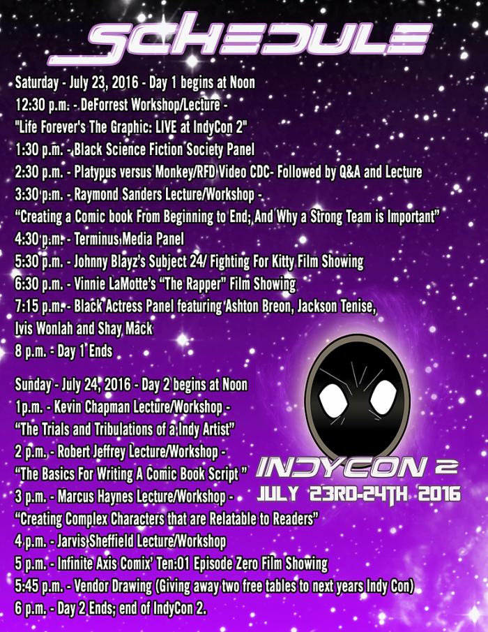 UAIC schedule